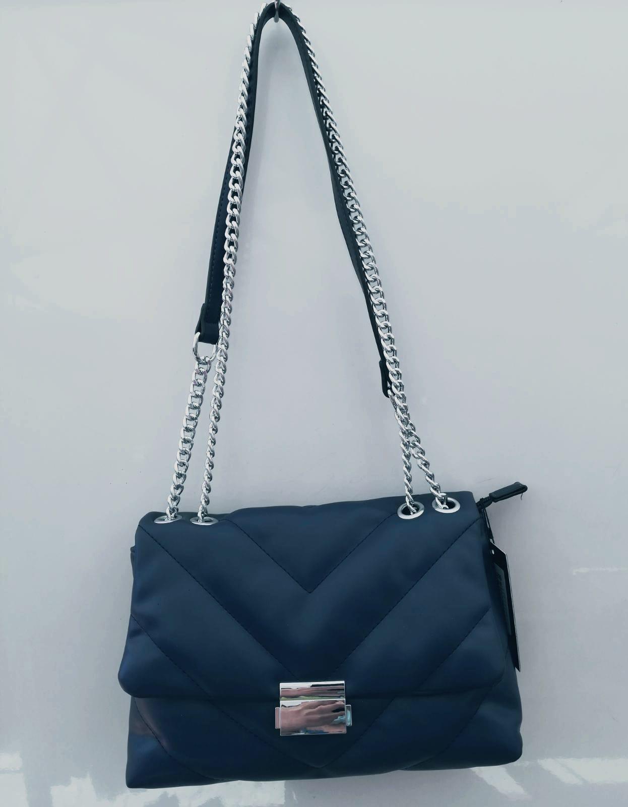 borsa blu scuro